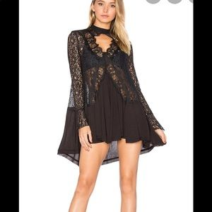 Free People Intimates lace tunic